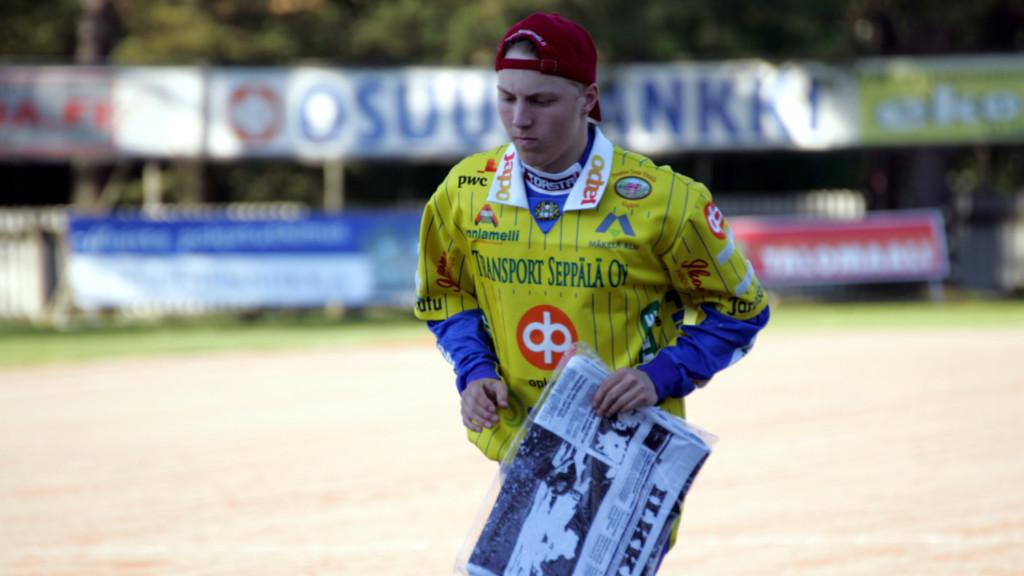 Ankkurien paras ulkopelaaja tiistaina oli Nstori Yli-Sissala. Kuva: K-Media/Jukka Ketonen.