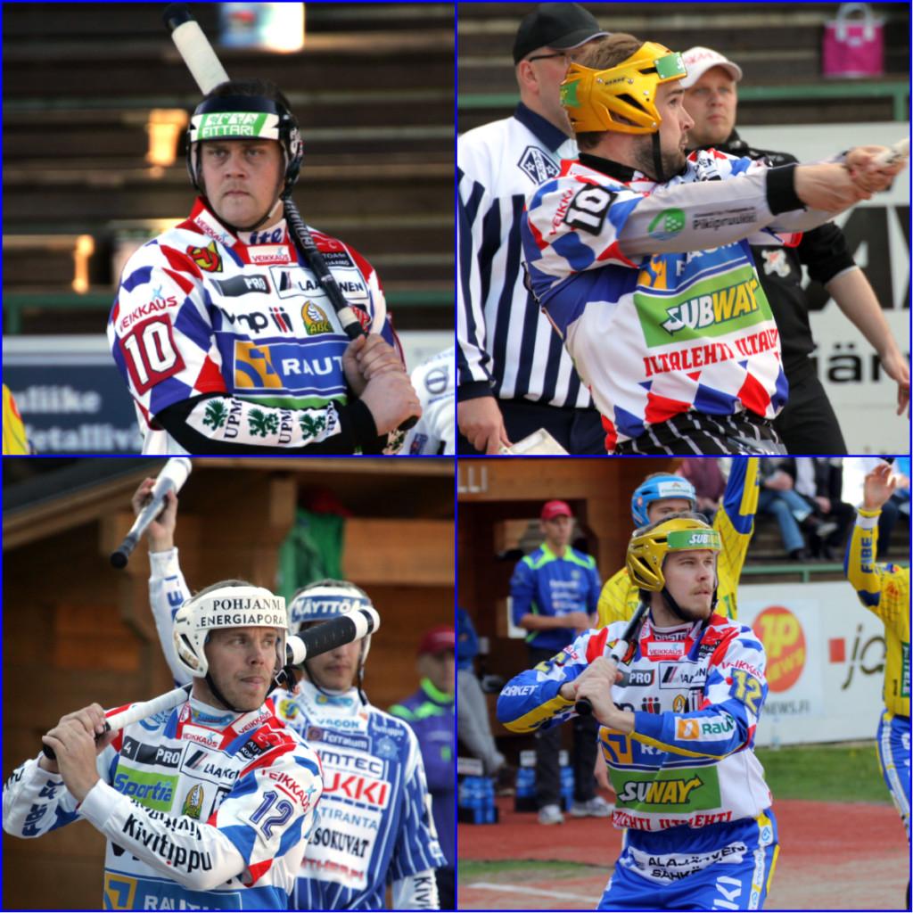 Onko joku heistä ensimmäinen maailmanmestari? Kuvat: K-Media/Jukka Ketonen.