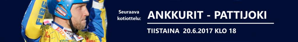 Ankkurit - Pattijoki 20.6. klo 18