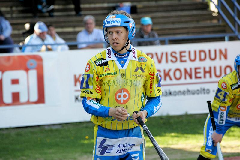 Petrus Puputti pelasi jäätävää kärkipeliä. Saldona neljä tuotua. Kuva: K-Media/Jukka Ketonen.